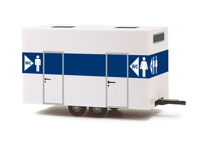 WC-Anhänger, 1:87 / H0