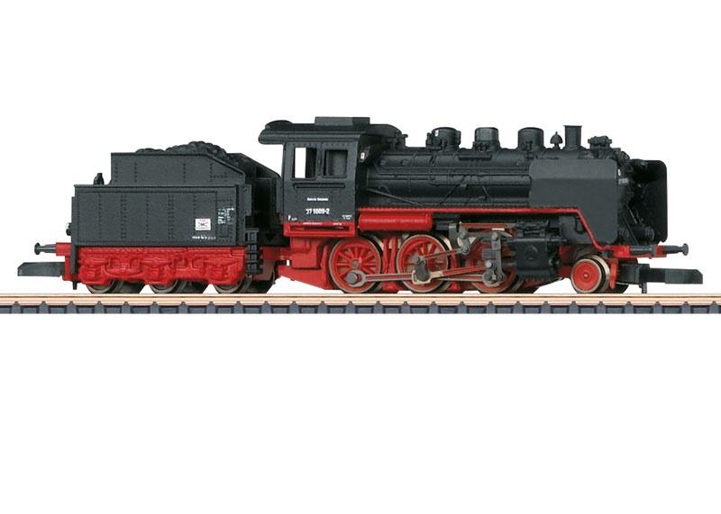 Dampflokomotive BR 37 der DR, Spur Z