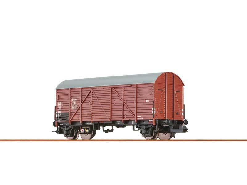 Gedeckter Güterwagen Gmhs 35 EUROP der DB, III, DC, Spur N