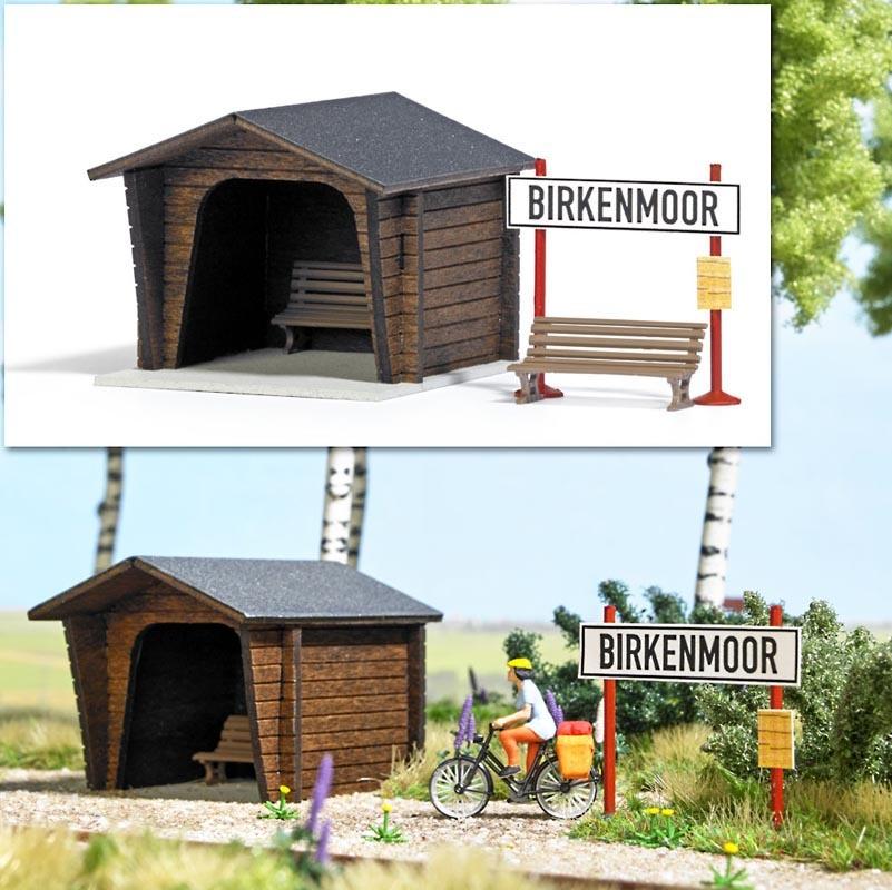 Haltepunkt Birkenmoor Bausatz, Spur H0