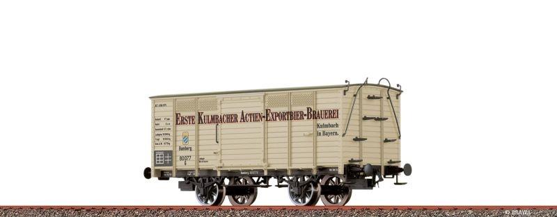 Gedeckter Güterwagen G Kulmbacher der K.Bay.Sts.B., DC, H0