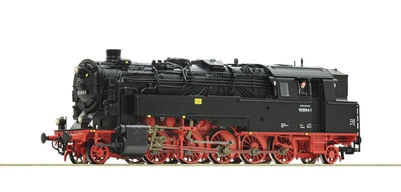 Dampflok BR 95 der DR, DC, Spur H0