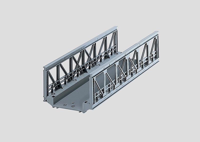 Gitterbrücke gerade 180 mm H0