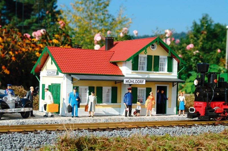 Bahnhof Mühldorf, Bausatz, Spur G