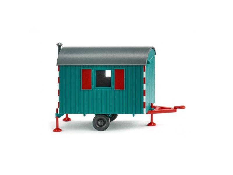 Bauwagen - wasserblau 1:87 / H0