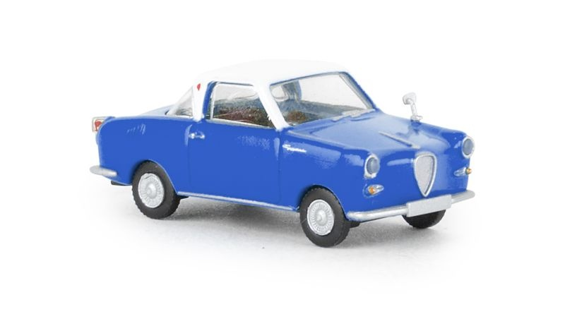 Goggomobil Coupe blau, weiss, TD, 1:87 / Spur H0