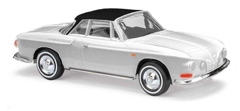 Karmann Ghia 1600, Spur zweifarbig, weiß, Spur H0