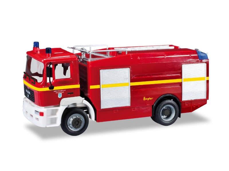 MAN M 2000 EVO Tanklöschfahrzeug Feuerwehr Ingolstadt 1:87