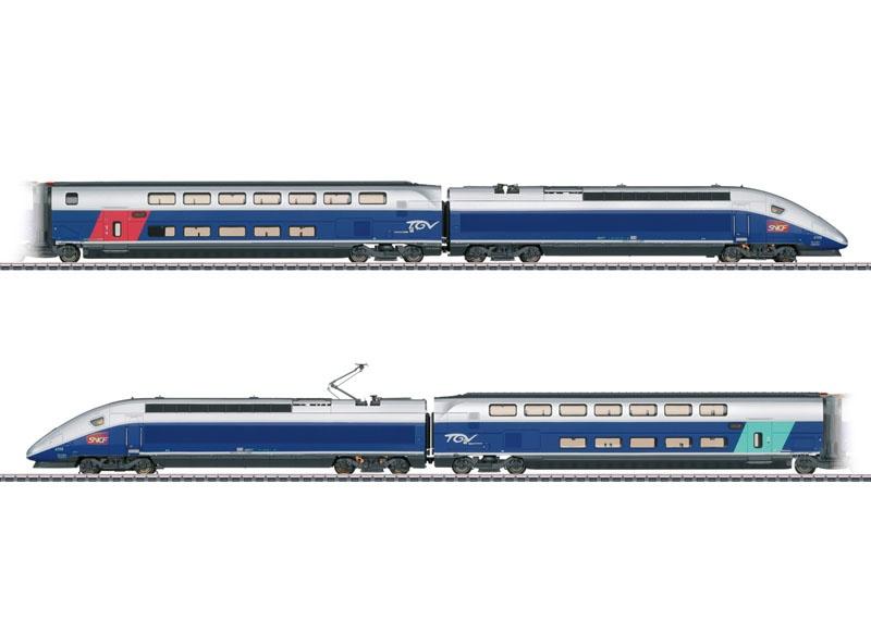 Hochgeschwindigkeitszug TGV Euroduplex, mfx+, Sound, AC, H0
