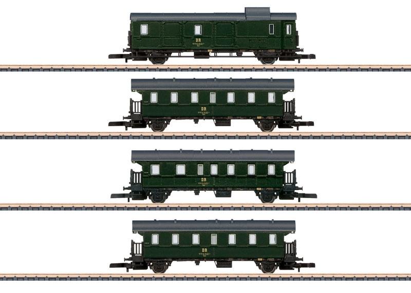 Personenwagen-Set DR, Spur Z