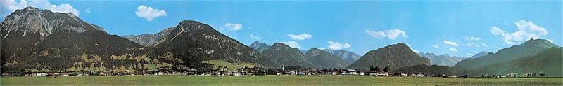 Modellhintergrund Oberstdorf 2900 x 450 mm