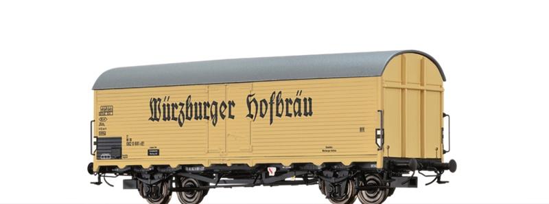 Kühlwagen Ibdlps 383 DB, IV, Würzburger, DC, Spur H0