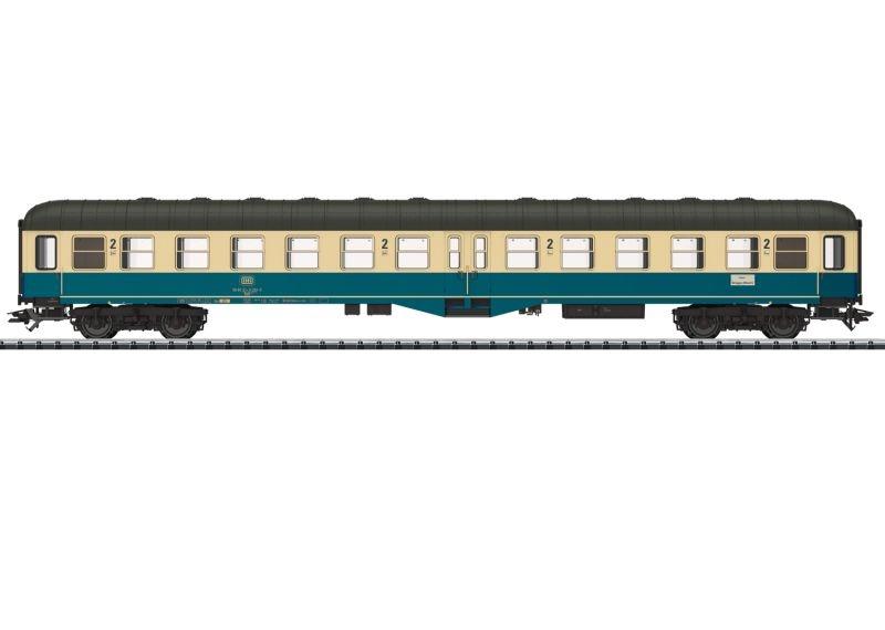 Personenwagen 2. Klasse Bym(b)421 der DB, DC, Spur H0