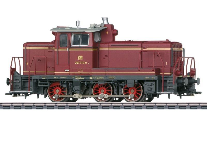 Diesellokomotive BR 260 der DB, Sound, mfx+, AC, Spur H0