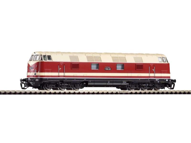 Diesellok V180 der DR, Epoche III, 6-achsig, Spur TT