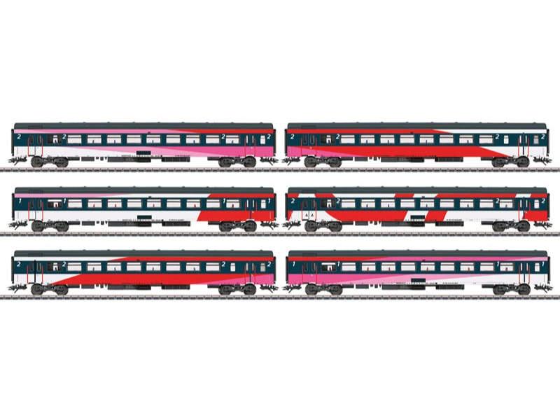 IC-Schnellzugwagen-Set ICRm NS H0