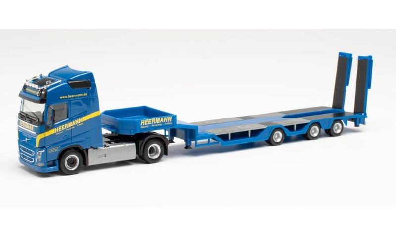 Volvo FH Gl. Goldhofer Allrounder-Sattelzug, 1:87 / Spur H0