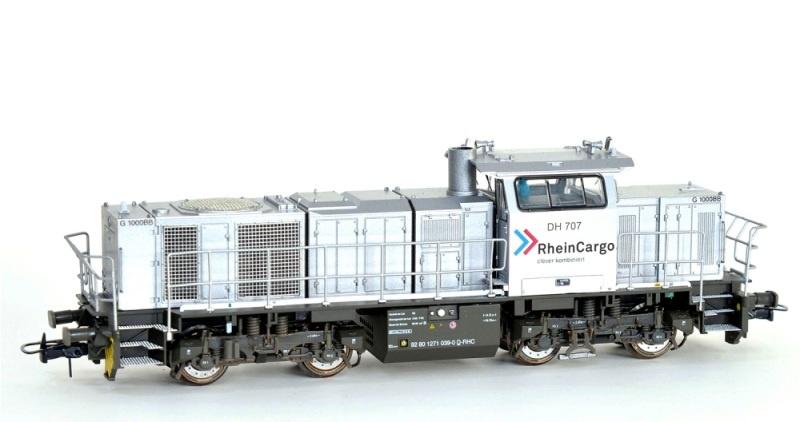 Diesellok Vossloh G1000 BB Rheincargo, Ep.VI, DC, Spur H0