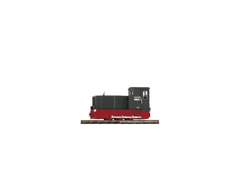 Heeresfeldbahnlok DR 199 002 Jöhstadt HF130C, Spur H0e