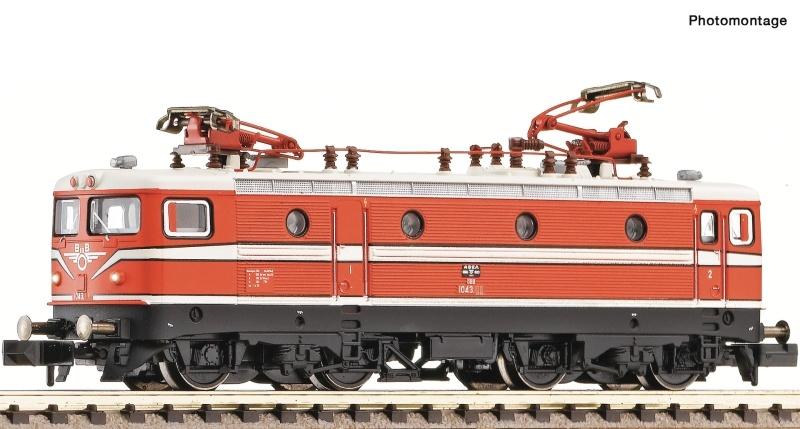 E-Lok Rh 1043 blutorange der ÖBB, Spur N