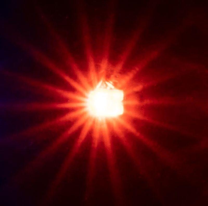 5 selbstblinkende LEDs, orange