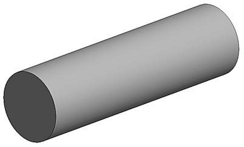 Rundstab, 1,0 x 350 mm (10)