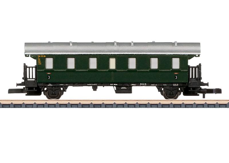 Personenwagen Donnerbüchse Ci-28 der DB, Spur Z