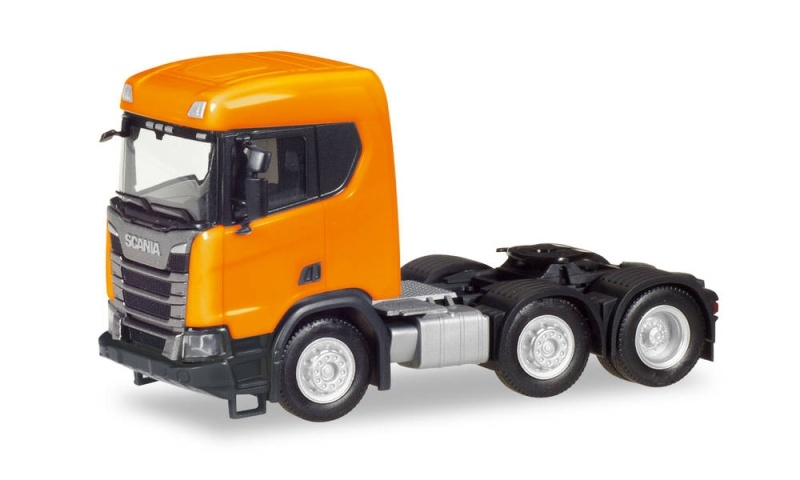 Scania CR XT ND Zugmaschine 3-Achs, orange, 1:87 / Spur H0