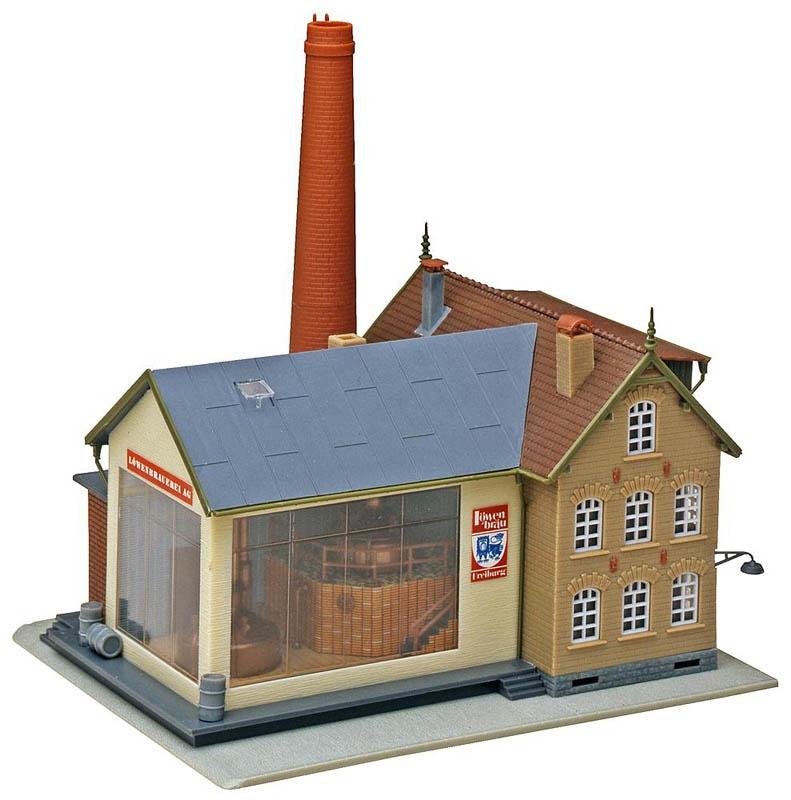 Brauerei Bausatz H0