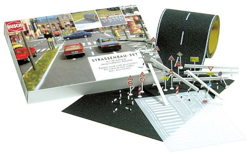 Straßenbau-Set, Spur N