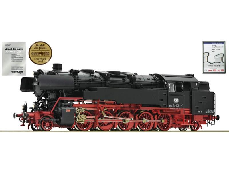 Dampflokomotive 85 007 DB H0 AC