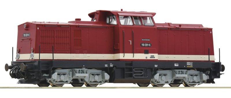 Diesellokomotive BR 110 der DR, DC, Spur H0