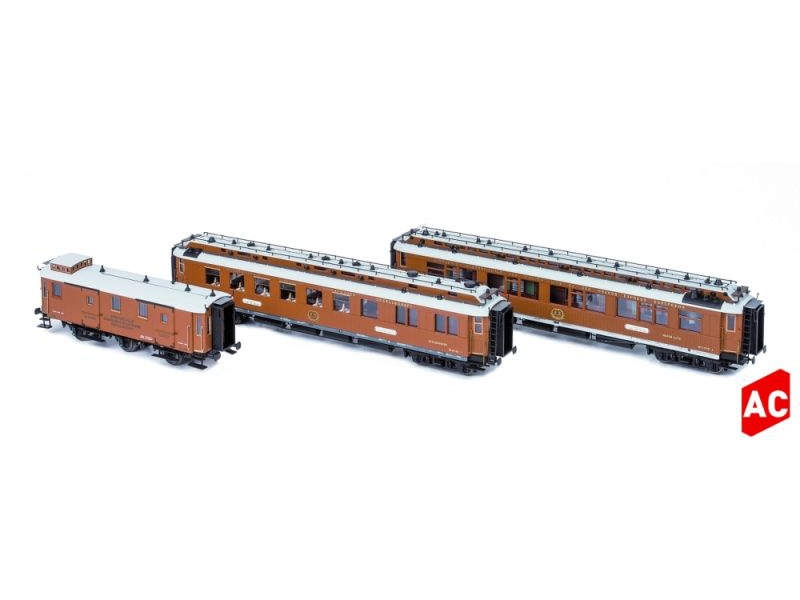 CIWL Wien-Nizza-Cannes Express Set2,3-tlg,Ep.I,AC,Spur H0