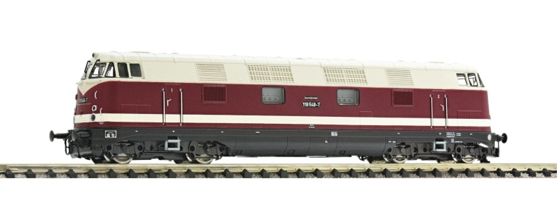 Diesellokomotive BR 118 der DR, DC, Spur N