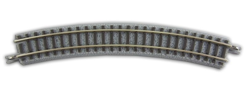 Gleis gebogen R195-30°, Spur Z