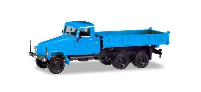 IFA G5 Dreiseitenkipper, blau, 1:87 / H0