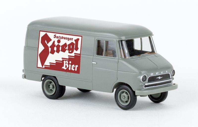 Opel Kasten A 1960, Stiegl Bier, 1:87 / Spur H0