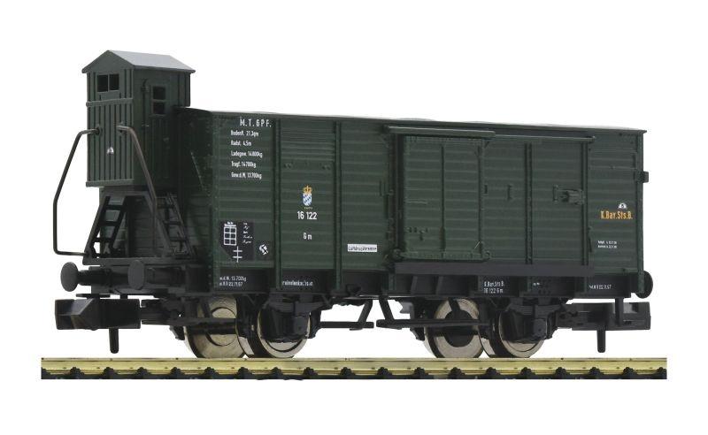 Gedeckter Güterwagen G, der K.Bay.Sts.B., DC, Spur N