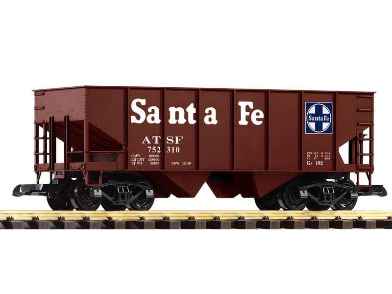 Schüttgutwagen geschlossen der Santa Fe Railroad, Spur G