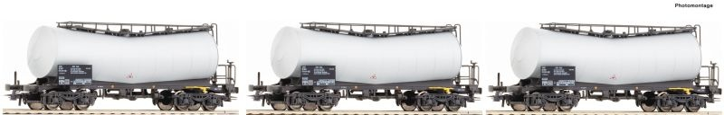 3-tlg. Set: Knickkesselwagen, ATIR-RAIL, Spur H0