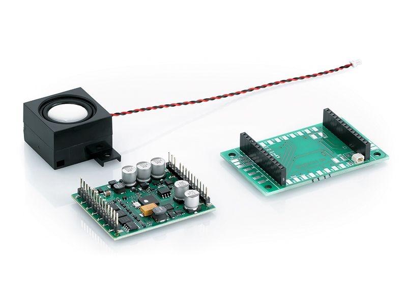 Nachrüst-Lokdecoder mit Sound, DCC/MFX, Spur G