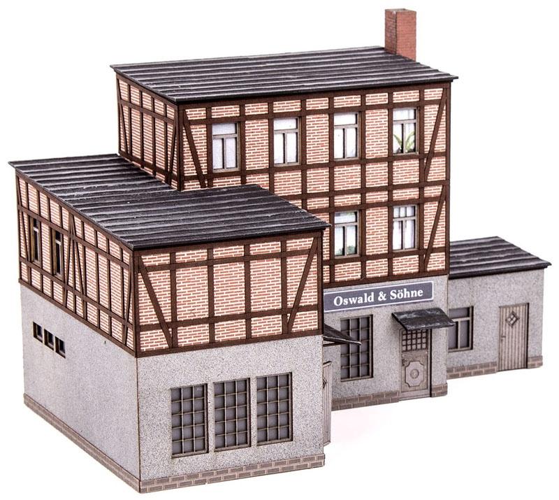 Klempnerei Oswald & Söhne Laser-Cut Bausatz Spur H0