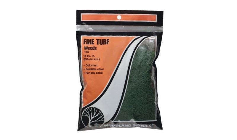 Streumaterial für Gras, Unkraut, dunkelgrün, fein, 50 g