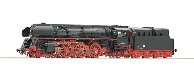 Dampflokomotive 01 507 der DR, DC, Spur H0