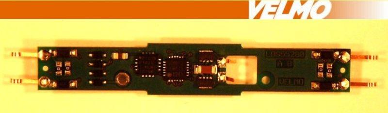 Lokdecoder DCC / SX für BR101 mit gelben LEDs, Spur Z