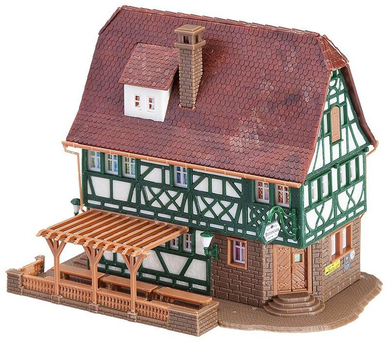 Gasthof Rothenburg Bausatz N