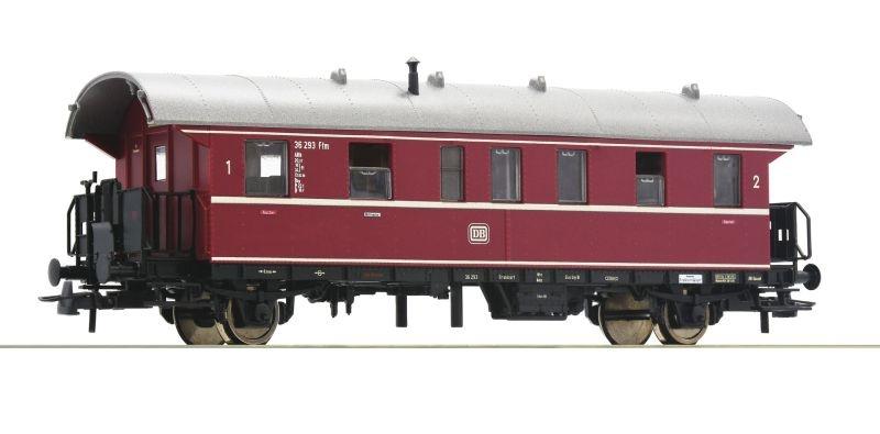 Personenwagen 1./2. Klasse Donnerbüchse der DB, DC, H0