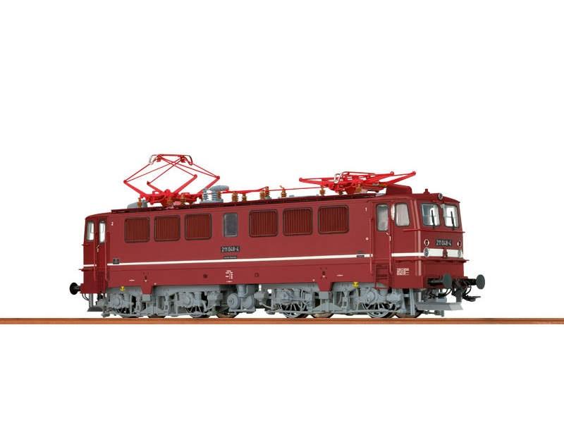 E-Lok BR 211 der DR, IV, Spur N