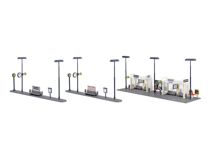 Busbahnhof, Bausatz, Spur H0
