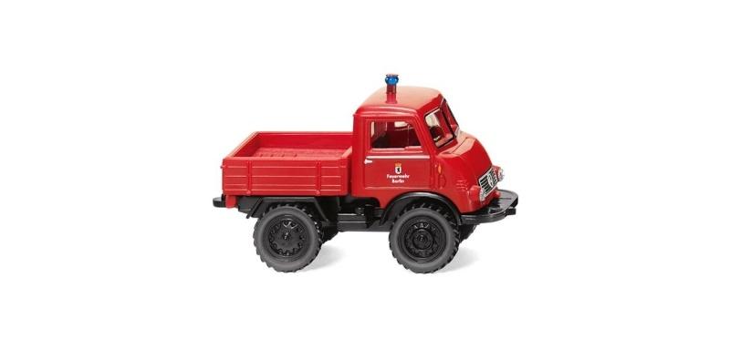 Feuerwehr - Unimog U 401, 1:87 / Spur H0